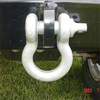 Rock Hard 4x4 9500 lb 3/4 In. Clevis 7/8 In. Dia. Pin (Universal Application) - Rock Hard 4x4 RH4003