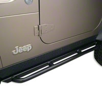 Body Armor RockCrawler Side Guards (97-06 Wrangler TJ) - Body Armor TJ-4121