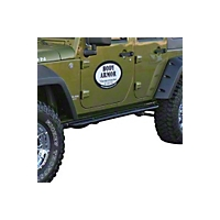 Body Armor RockCrawler Side Guards (07-13 Wrangler JK) - Body Armor JK-4121