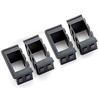 Rugged Ridge Rocker Switch Housing Kit, Mounts up to 4 Switches (Universal Application) - Rugged Ridge 17235.2