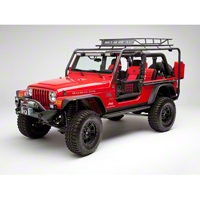 Body Armor Roof Rack Base (04-06 Wrangler TJ Unlimited) - Body Armor TJ-6124