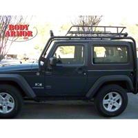 Body Armor Roof Rack Base (07-13 Wrangler JK 2 Door) - Body Armor JK-6125
