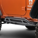 Rugged Ridge RRC Black Rocker Guards (07-13 Wrangler JK 2 Door) - Rugged Ridge 11504.23