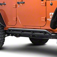 Rugged Ridge RRC Black Rocker Guards (07-13 Wrangler JK 4 Door) - Rugged Ridge 11504.22
