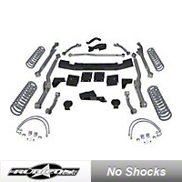 Rubicon Express 3.5 in. Extreme-Duty Long Arm Lift Kit (07-13 Wrangler JK 4 Door) - Rubicon Express 7363