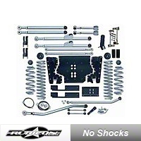 Rubicon Express 4.5in. Extreme-Duty Long Arm Lift Kit (97-02 Wrangler TJ) - Rubicon Express 7204