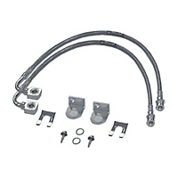 Rubicon Express Front Brake Line Set w/ 2-4.5 In. Lift (07-09 Wrangler JK 4 Door) - Rubicon Express 1530