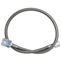 Rubicon Express Rear Stainless Steel Brake Lines w/ 3.5-5.5 In. Lift (97-06 Wrangler TJ) - Rubicon Express 1517