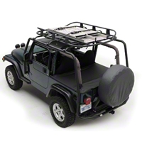 Smittybilt Rugged Rack Basket (Universal Application) - Smittybilt 17185