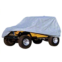 Rugged Ridge 3 Piece Full Car Cover (87-06 Wrangler YJ & TJ) - Rugged Ridge 13321.7