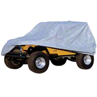 Rugged Ridge 3 Piece Full Car Cover Kit (04-13 Wrangler TJ & JK Unlimited) - Rugged Ridge 13321.73