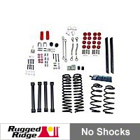 Rugged Ridge 4in. Lift Kit, No Shocks (03-06 Wrangler TJ) - Rugged Ridge 18401.42