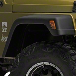 Rugged Ridge 7 in. Fender Flare 6pc Kit w/Hardware (97-06 Wrangler TJ) - Rugged Ridge 11608.01