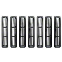 Rugged Ridge Aluminum Grille Insert Kit (98-06 Wrangler TJ w/ Black Powder Coat) - Rugged Ridge 11401.03