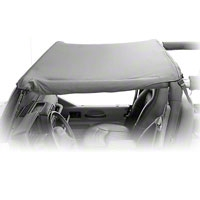 Rugged Ridge Pocket Summer Brief Top, Black Diamond (07-09 Wrangler JK 2 Door) - Rugged Ridge 13587.35