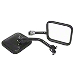 Rugged Ridge Black Mirror Kit (87-95 Wrangler YJ) - Rugged Ridge 7618