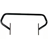 Rugged Ridge Glossy Black Brush Guard (97-06 Wrangler TJ) - Rugged Ridge 11512.02