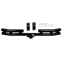 Rugged Ridge Tubular Rear Bumper w/Hitch (87-06 Wrangler YJ & TJ) - Rugged Ridge 52407