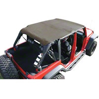 Rugged Ridge Pocket Island Top, Khaki Diamond (07-09 Wrangler JK 4 Door) - Rugged Ridge 13589.36
