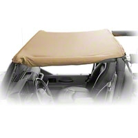 Rugged Ridge Pocket Summer Brief Top, Khaki Diamond (07-09 Wrangler JK 2 Door) - Rugged Ridge 13587.36