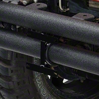 Rugged Ridge License Plate Bracket For 3 Inch Tube Bumpers (87-13 Wrangler YJ, TJ & JK) - Rugged Ridge 11503.8