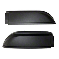 Rugged Ridge Passenger Side Front Fender Flare Extension (87-95 Wrangler YJ) - Rugged Ridge 55007316