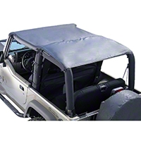 Rugged Ridge Pocket Island Topper, Black Diamond (97-06 Wrangler TJ) - Rugged Ridge 13586.35
