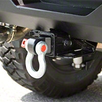 Rugged Ridge Receiver Hitch D-Ring Bracket (Universal Application) - Rugged Ridge 11234.01