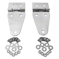Rugged Ridge Hood Hinges, Stainless Steel (87-95 Wrangler YJ) - Rugged Ridge 7402