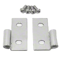 Rugged Ridge Stainless Steel Lower Door Hinge - Pair (87-06 Wrangler YJ & TJ) - Rugged Ridge 11113.04
