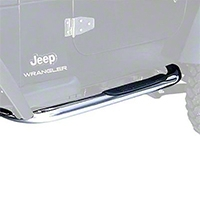 Rugged Ridge Side Step Pair, Stainless Steel (97-06 Wrangler TJ) - Rugged Ridge 11593.04