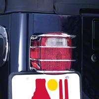 Rugged Ridge Stainless Steel Taillight Guards (87-06 Wrangler YJ & TJ) - Rugged Ridge 8460