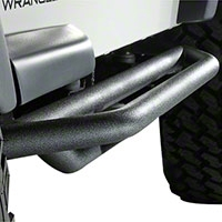 Rugged Ridge Rock Crawler Side Armor, Pair, Textured Black (87-06 Wrangler YJ & TJ) - Rugged Ridge 11504.13