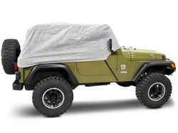 Rugged Ridge Three Layer Deluxe Cab Cover (87-06 Wrangler YJ & TJ)