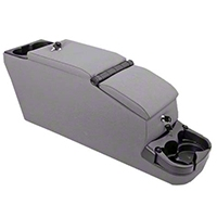 Rugged Ridge Ultimate II Console Assembly - Gray Vinyl (87-95 Wrangler YJ) - Rugged Ridge 13103.09