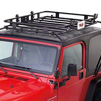Warrior Products Safari Sport Rack (97-06 Wrangler TJ) - Warrior Products 873
