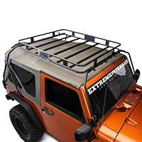 Warrior Products Safari Sport Rack (07-13 Wrangler JK 2 Door) - Warrior Products 877