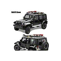 Warrior Products Safari Sport Rack w/ One Piece Basket (04-06 Wrangler TJ Unlimited) - Warrior Products 875