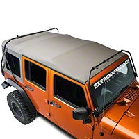 Warrior Products Safari Watercraft Rack (07-13 Wrangler JK) - Warrior Products 878