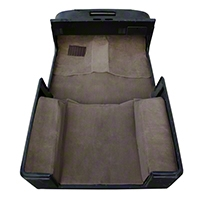 Rugged Ridge Deluxe Complete Carpet Kit - Honey (97-06 Wrangler TJ) - Rugged Ridge 13691.1
