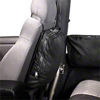 Rugged Ridge Detachable Seat Back Trail Bag w/ Hook & Loop Attachment (87-15 Wrangler YJ, TJ & JK) - Rugged Ridge 13551.25