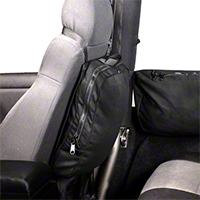 Rugged Ridge Seat Back, Trail Bag (87-95 Wrangler YJ, 97-10 Wrangler TJ & JK) - Rugged Ridge 13551.26