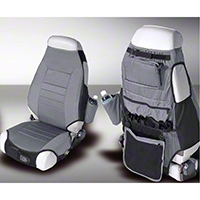 Rugged Ridge Seat Protector Pair - Gray (87-06 Wrangler YJ & TJ) - Rugged Ridge 13235.09