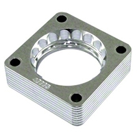 aFe Silver Bullet Throttle Body Spacer (91-06 Wrangler YJ & TJ, 4.0L) - aFe 46-35001