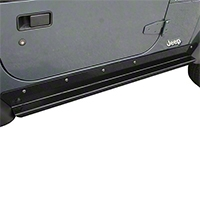 Rugged Ridge Solid Rocker Guards Heavy-Duty (97-06 Wrangler TJ) - Rugged Ridge 11504.15