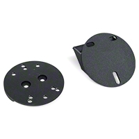 Rugged Ridge Spare Tire Spacer, Textured Black (87-13 Wrangler YJ, TJ & JK) - Rugged Ridge 11585.02