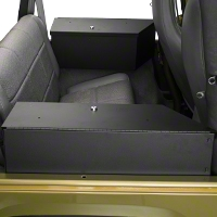 Tuffy Speaker & Storage Security Lock Box Set (92-95 Wrangler YJ) - Tuffy 020-01