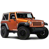 Rugged Ridge Stainless Steel 8 Piece Euro Guard Light Kit (07-14 Wrangler JK) - Rugged Ridge 12496.09