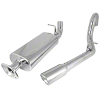 Rugged Ridge Stainless Steel Cat-Back Exhaust Kit (00-06 Wrangler TJ w/2.4L, 2.5L, or 4.0L Engine) - Rugged Ridge 17606.71