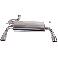 Rugged Ridge Stainless Steel Dual Outlet Exhaust Kit (07-10 Wrangler JK w/3.8L) - Rugged Ridge 17606.75